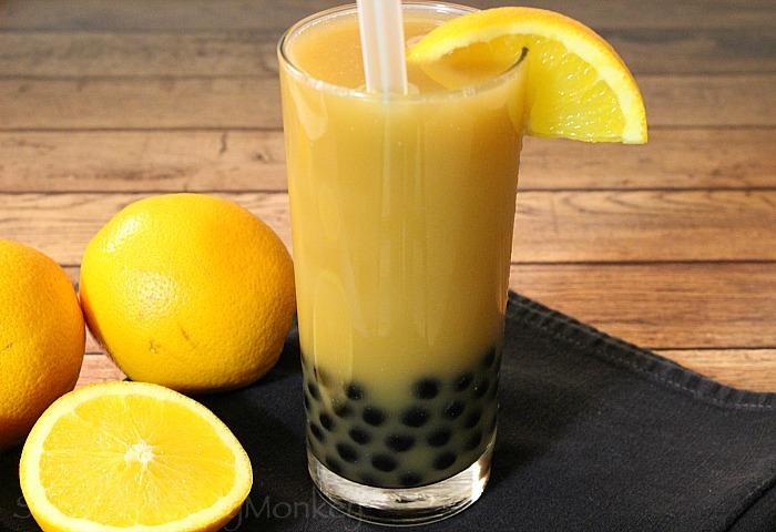 Sweet Spicy Monkey Bubble Tea