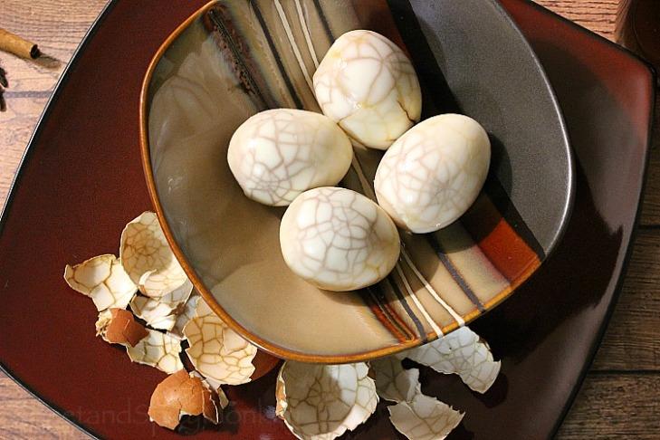 Chai Tea Eggs