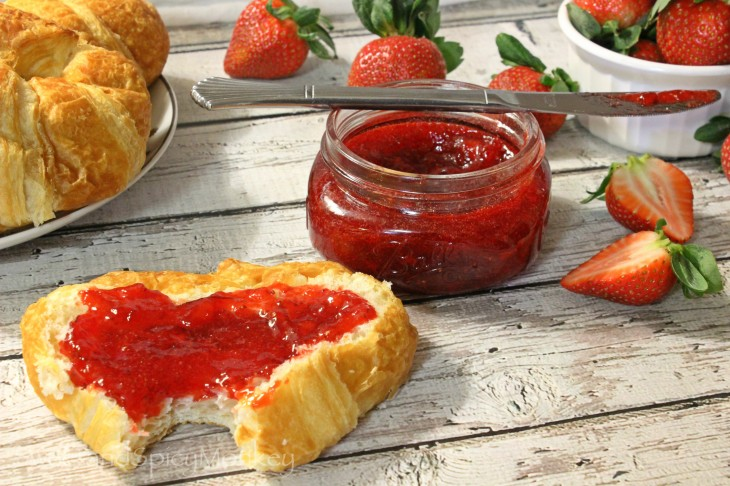 Easy Strawberry Lime Jam