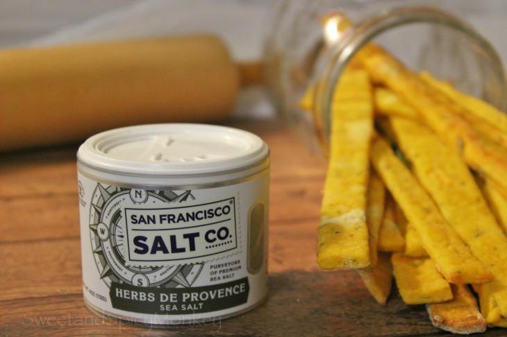 Sweet Potato Rosemary Thin Breadsticks