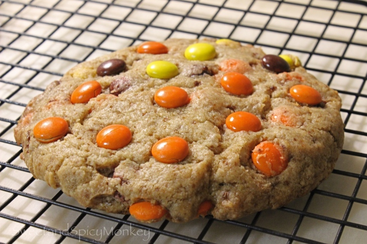 Giant Reese's Pieces Cookie for One