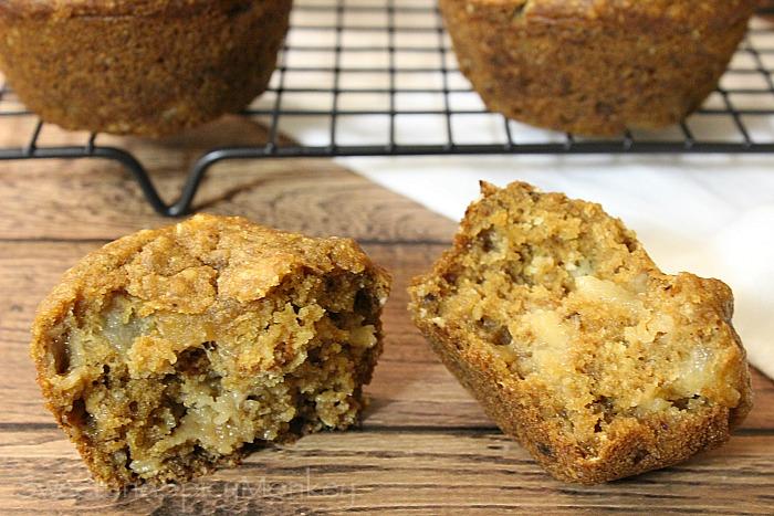 GF Pear & Ginger Breakfast Muffins