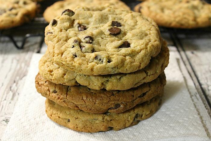 Copycat Chik fil A Chocolate Chip Cookies